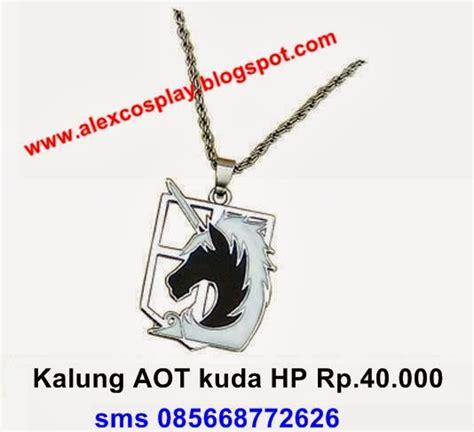 Sho Kuda Biru alex shop necklace kalung 2