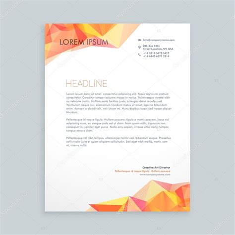 Business Letterhead Vector Modern Business Letterhead Vector Illustrator Stock Vector 169 Starline 106831480