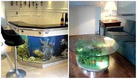 Fish Tank Tables They Hold Alive Tranquility Living Fish Tank Living Room Table