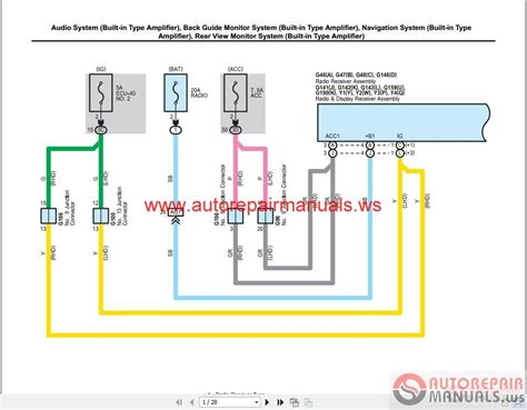 2011 toyota electrical wiring diagram toyota