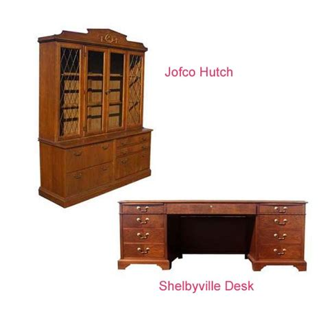 Jofco Furniture by Restored Walnut Shelbyville And Jofco Hutch And Desk