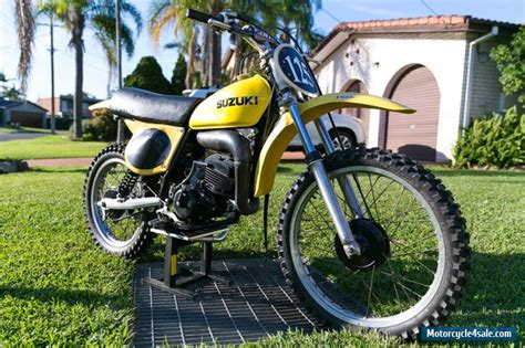 vintage motocross bikes for sale australia suzuki rm125a for sale in australia