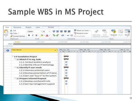 22 wbs template powerpoint free simple work breakdown