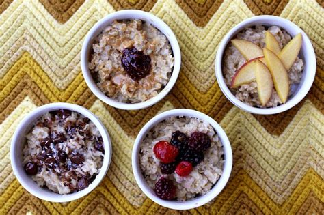 9 Ways To Make Oatmeal Interesting by Oatmeal 9 Ways A Beautiful Mess