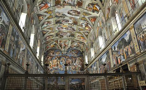 Fresque Plafond Chapelle Sixtine by Histoire De La Sibylle De Cumes