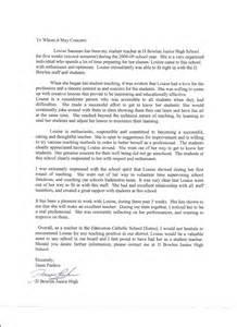student volunteer reference letter sample