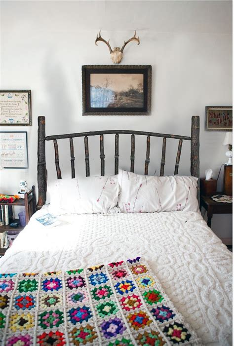 your organic bedroom this log bed is a simple place to start loving rustic