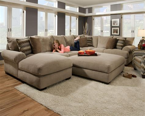 large sofas living room contemporary large sectional sofas for living room