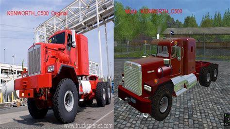 kenworth c500 kenworth c500 v1 0 trucks farming simulator 2015