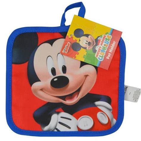 Oven Tangkring Mickey Mouse disney mickey mouse pot holder oven mitt set ebay
