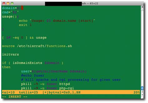 how to debug a bash shell script under linux or unix