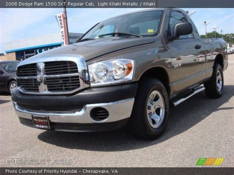 2008 dodge ram 1500 light light khaki metallic 2008 dodge ram 1500 sxt regular cab
