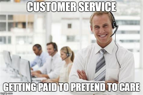 Customer Service Meme - call center imgflip