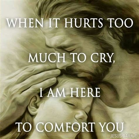 what comforts you amen when it hurts jesus christ will comfort you nails