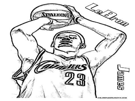lebron james coloring pages lebron james coloring pages to download and print for free