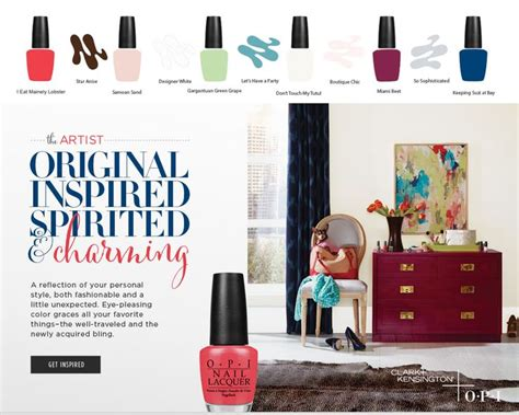 opi clark kensington wall paint colors inspired by opi nail polishes be still my