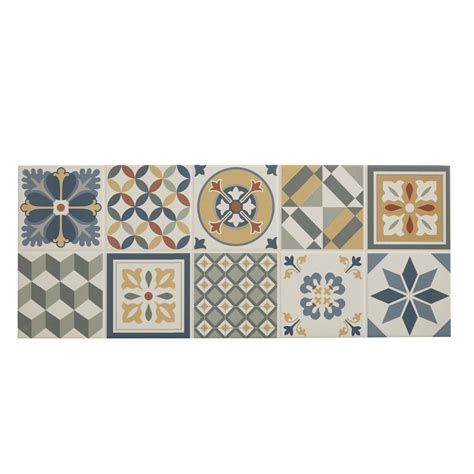 konkrete multicolor matt ceramic wall tile pack