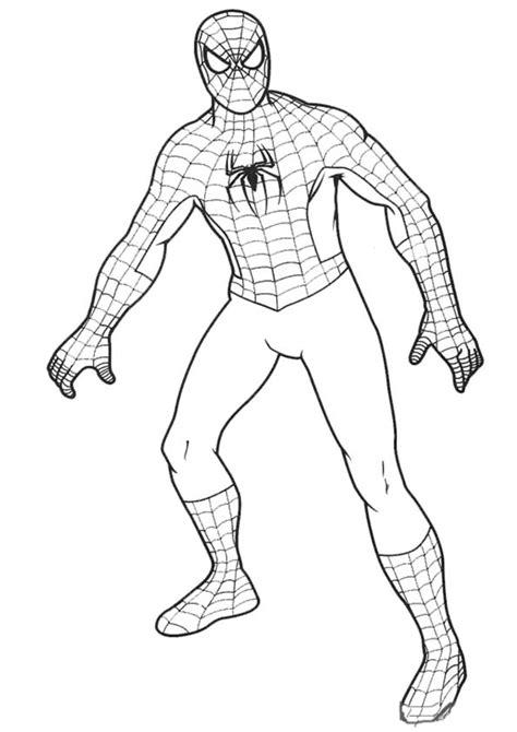 dibujos para colorear de spider man gratis spiderman 98 superh 233 roes p 225 ginas para colorear