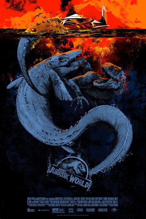 Frame Lego Jurassic World inside the rock poster frame mondo sdcc jurassic