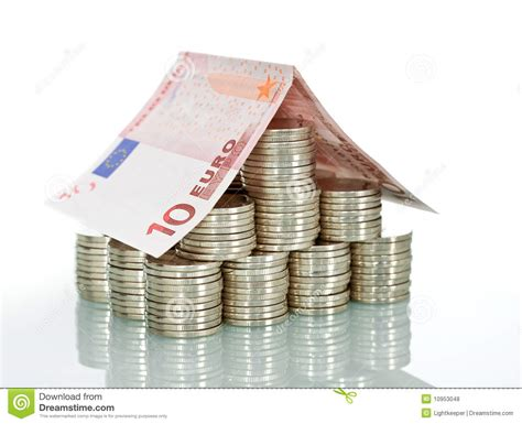 casa in banking money house insurance and banking stock photo image