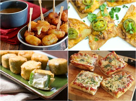 18 awesome apps and finger foods for your super bowl party