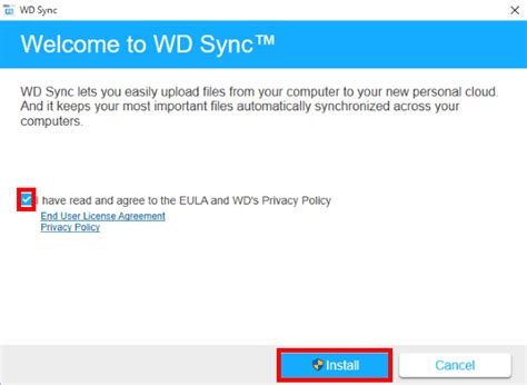 Wd Cloud Mirror by Installing Wd Sync On Windows Wd Support