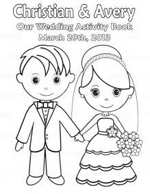 personalized coloring books printable personalized wedding coloring activity by