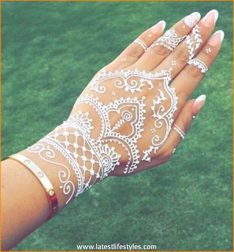 henna tattoo french quarter a french inspired mani for your wedding day white henna