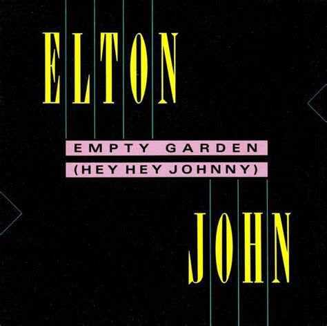 Empty Garden By Elton 17 beste afbeeldingen elton album covers op