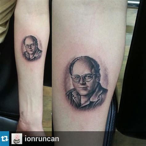 tiny george costanza by ionruncan swahili bob s tattoo