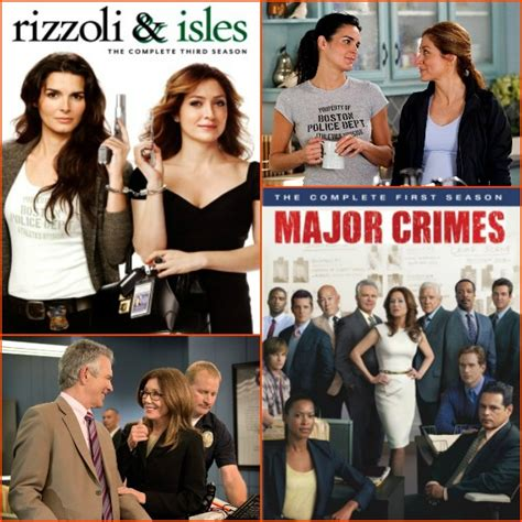 Sweepstakes Tv Show - monday giveaway major crimes season 1 rizzoli isles season 3 on dvd reel life