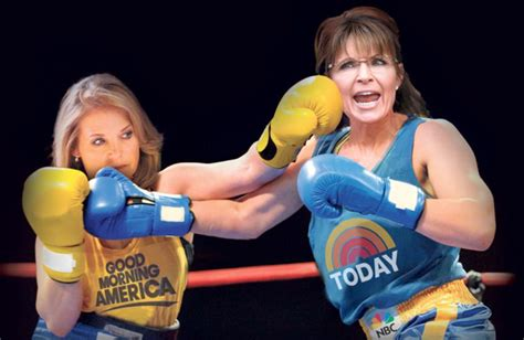 katie couric and sarah palin it s palin vs couric in the morning ny daily news