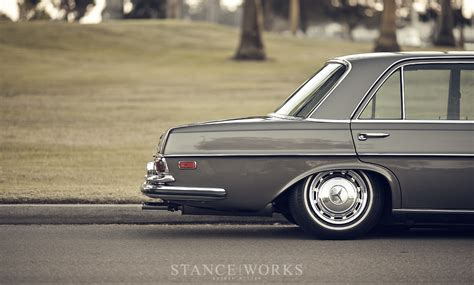 bagged mercedes stance works bagged mercedes benz w108