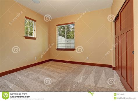 unfurnished room with beige interior paint stock image image 57714847