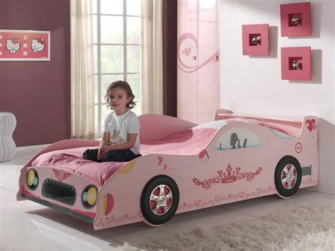 pink car bed 15 racing car beds for children room