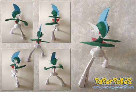 Gardevoir Papercraft - paperpok 233 s pok 233 mon papercraft gallade lyrin s