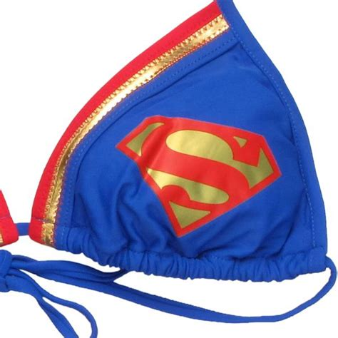 Triangle String - superman triangle string swimsuit