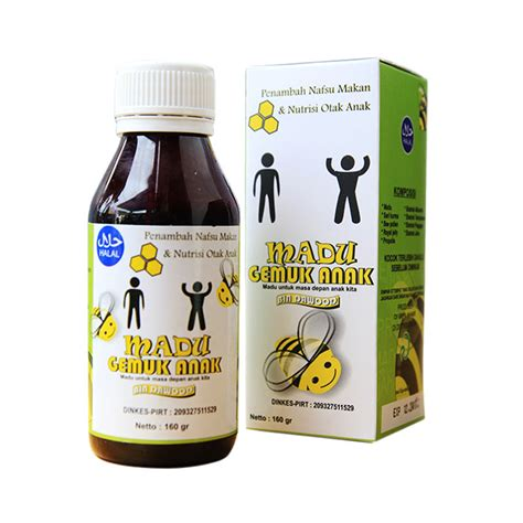 Obat Herbal Madu Gemuk madu penggemuk badan anak original obat herbal obat herbal