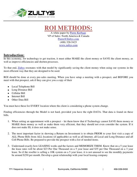 Justification Letter For Cell Phone How To Cost Justify A New Voip Phone System