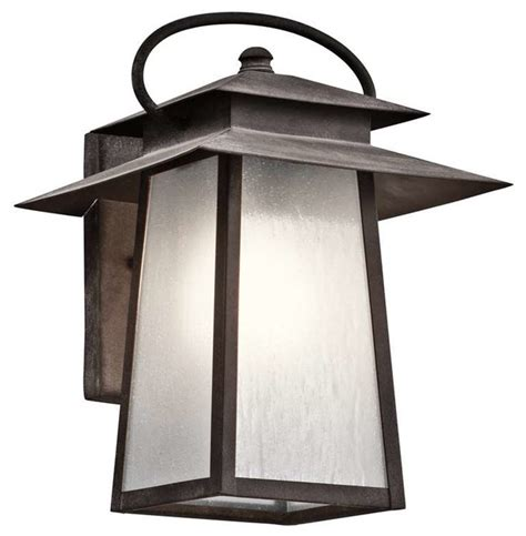Arts And Crafts Outdoor Lighting Kichler Lighting 49530wzc Woodland Lake Arts And Crafts