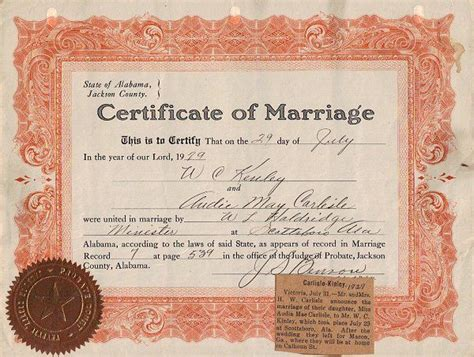 Marriage License Alabama Records Pin By Thunderbird584 On Alabama