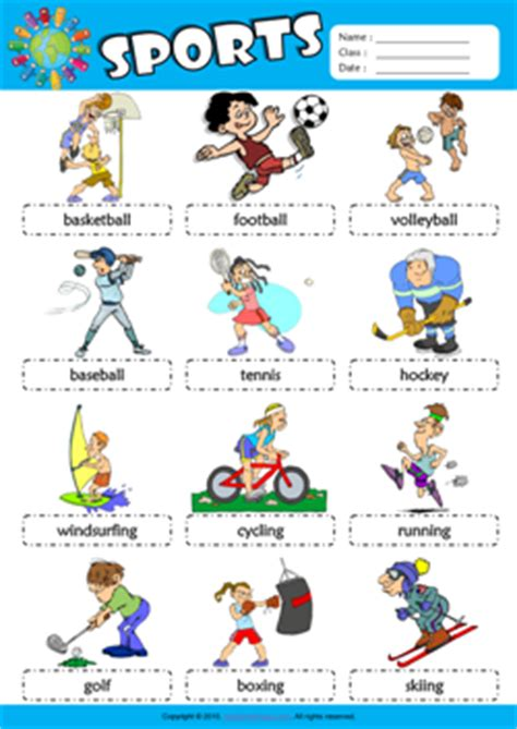 Sports Vocabulary Worksheet by How Sports Are Failing Need Constructive Ways
