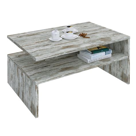 Table Basse Shabby by Table Basse Adelaide M 233 Lamin 233 Shabby Chic Mobil Meubles