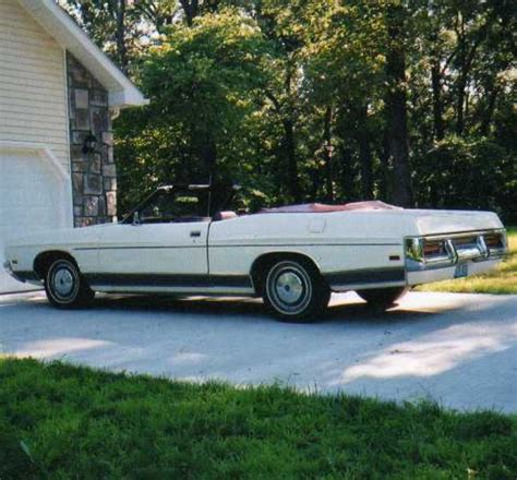 ford l t d 28 images 72 ford l t d convertible for
