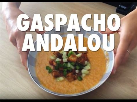 Bovis Xh 1868 33 gaspacho andalou recette de cuisine espagnole