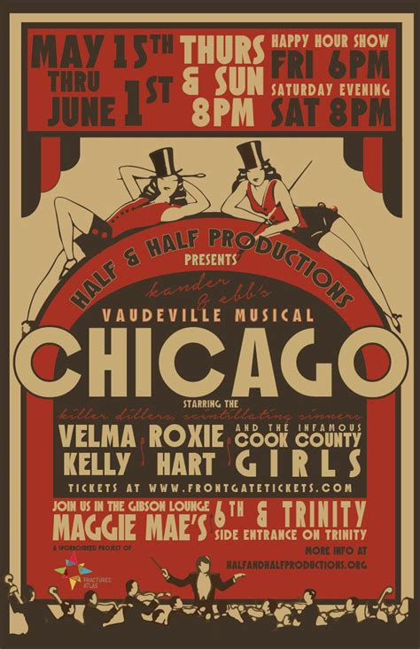 chicago musical poster google search chicago musical