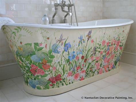 Painted Bathtubs by Nantucket