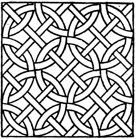pattern clipart black and white roman mosaic circle pattern clipart etc