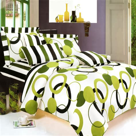 artistic green twin duvet style comforter set free shipping