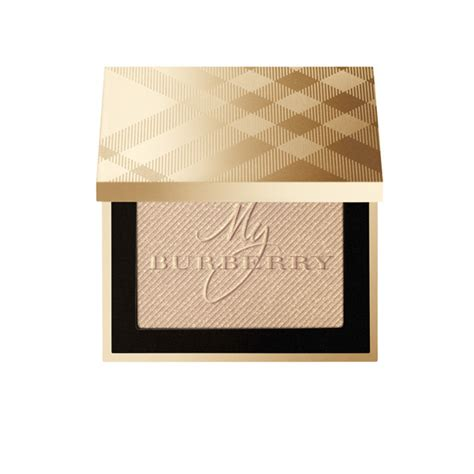 New Burberry Gold Glow Powder No01 Gold Shimmer Limited Edition for new year s shop our favorite makeup
